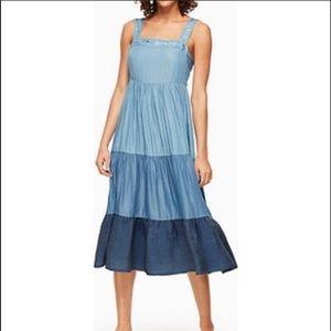 Chambray Patio Dress